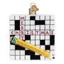 Crossword Puzzle Ornament