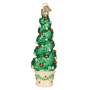 Holiday Topiary Christmas Ornament
