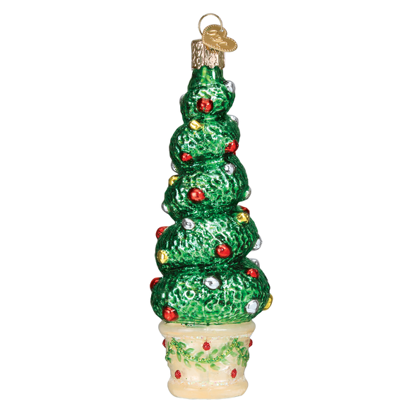 holiday topiary christmas ornament - Topiary Christmas Decorations