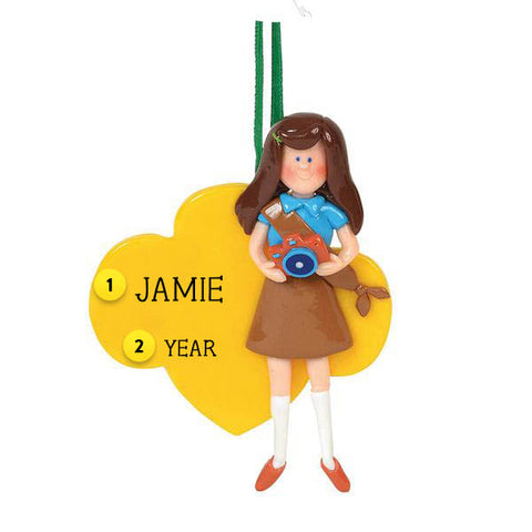 Girl Scout Brownie Ornament
