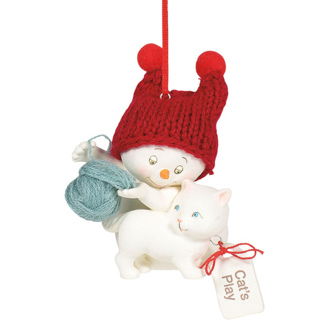 Snowpinion : Cat's Play Ornament