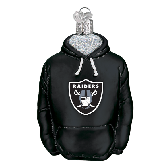 new arrival fcf84 3b487 Oakland Raiders Hoodie Ornament