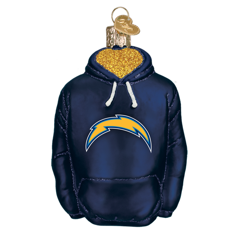 Los Angeles Chargers Hoodie Ornament