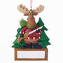 Hunting Moose Ornament