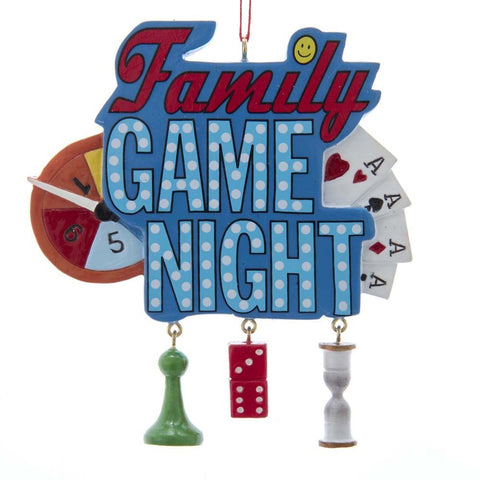 Family Game Night Ornament