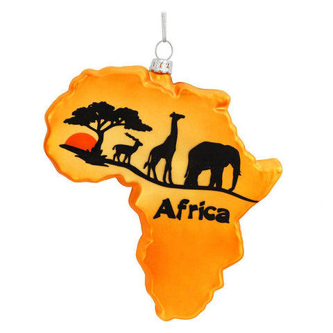 Africa Ornament for Christmas Tree