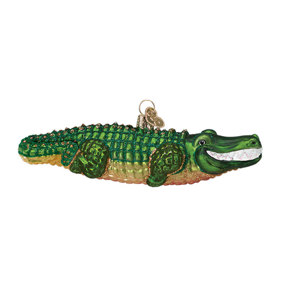 Alligator Ornament for Christmas Tree