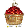 Apple Basket Ornament