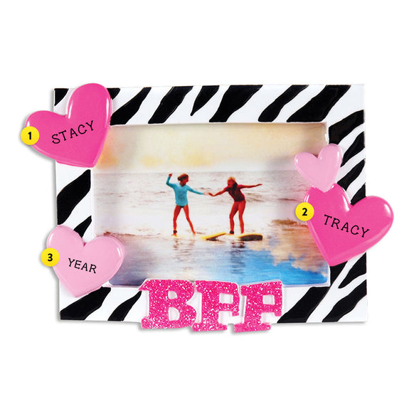 Best Friends Forever Frame Ornament Callisters Christmas