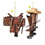 Western Saddle  Ornament for Christmas Tree