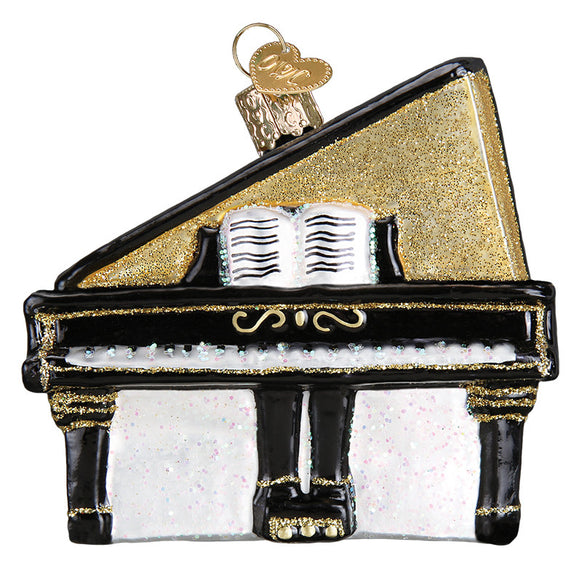 Baby Grand Piano Ornament for Christmas Tree