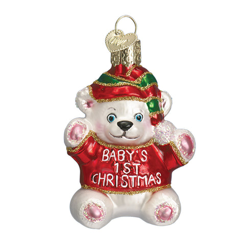 Baby's 1st Christmas Ornament for Christmas Tree