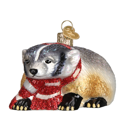 Badger Ornament for Christmas Tree