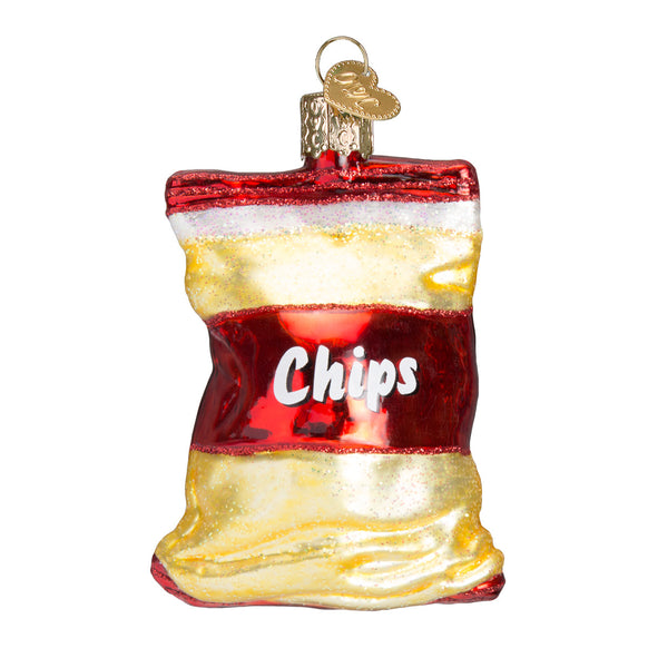 Bag of Chips Ornament for Christmas Tree
