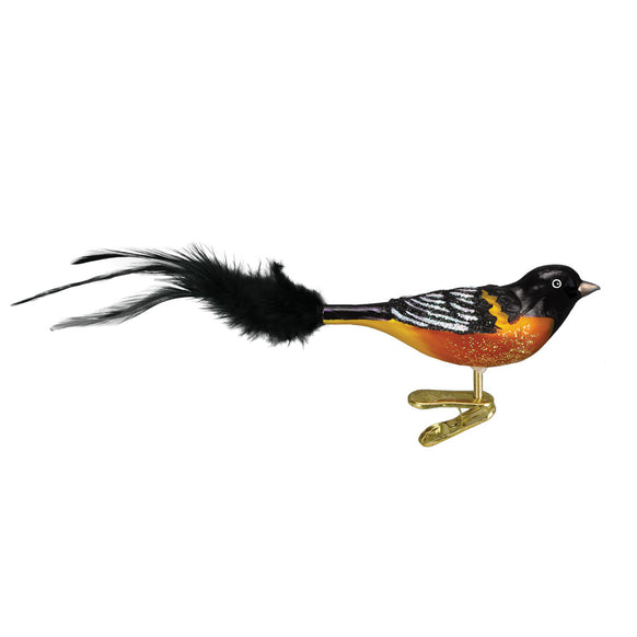 Baltimore Oriole Ornament for Christmas Tree