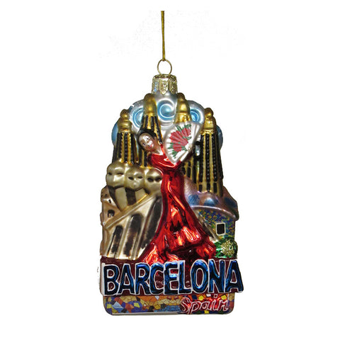 Barcelona Ornament for Christmas Tree