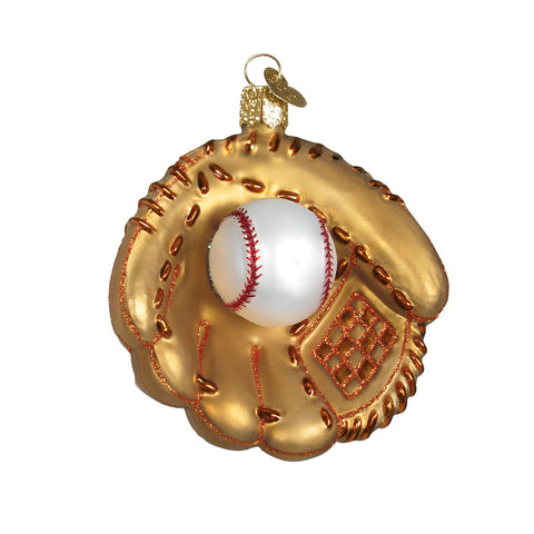 Baseball Mitt Ornament for Christmas Tree