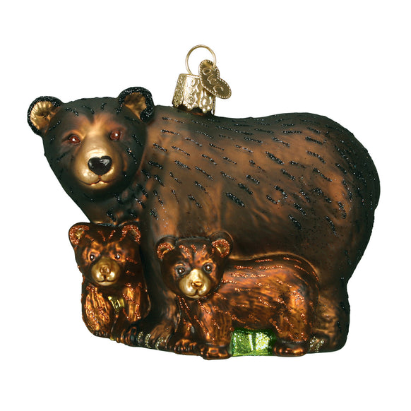 Bear with Cubs for Christmas Tree