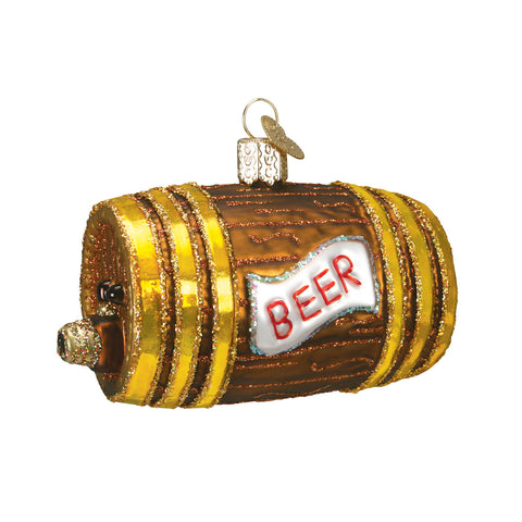 Beer Keg Ornament for Christmas Tree