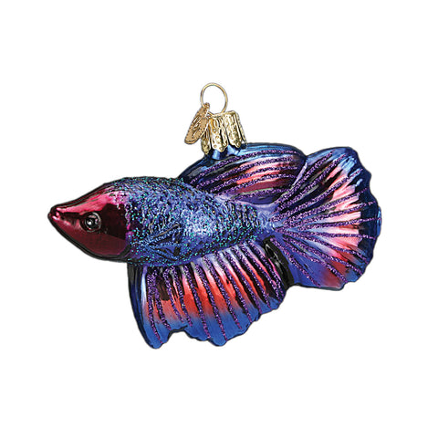 Betta Fish Ornament for Christmas Tree