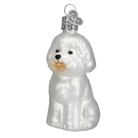 Bichon Frise Ornament for Christmas Tree
