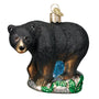 Black Bear Ornament for Christmas Tree