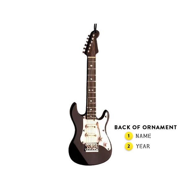 Electric Guitar Ornament