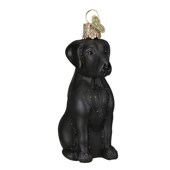 Black Labrador Ornament for Christmas Tree