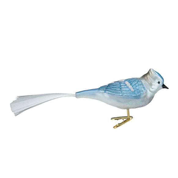 Blue Jay Ornament for Christmas Tree