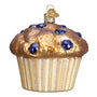 Blueberry Muffin Ornament for Christmas Tree