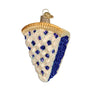 Blueberry Pie Ornament for Christmas Tree