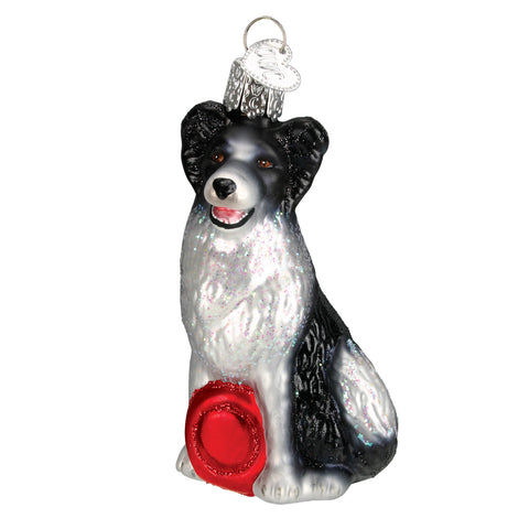 Border Collie Ornament for Christmas Tree