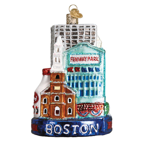 Boston Ornament for Christmas Tree