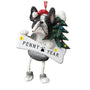 Boston Terrier Dog Ornament for Christmas Tree