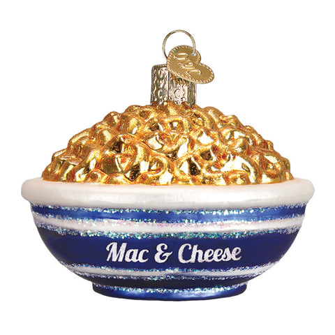 Bowl of Mac & Cheese Ornament for Christmas Tree