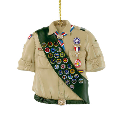 Eagle Scout Shirt Ornament Christmas Ornaments