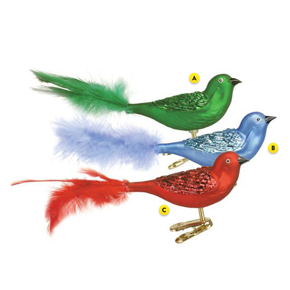 Brilliant Songbird Ornament for Christmas Tree
