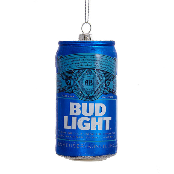 Bud Light Can Ornament for Christmas Tree