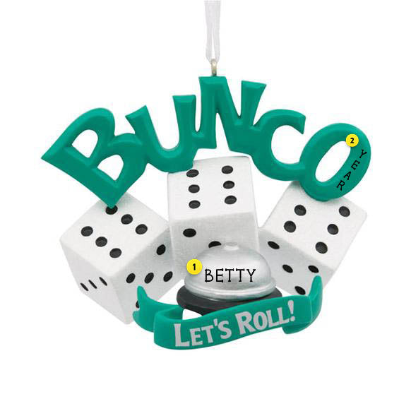 Bunco Ornament