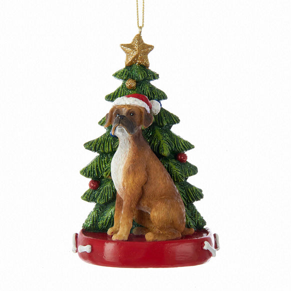 Boxer Dog Ornament - Boxer Dog Ornament Personalized €� Callisters Christmas