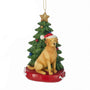 Yellow Lab Dog Ornament