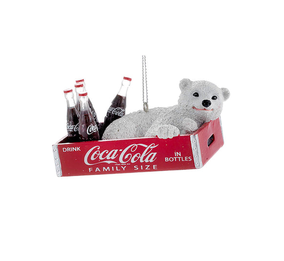 Coca Cola Polar Bear Ornament