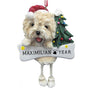 Cairn Terrier Dog Ornament for Christmas Tree