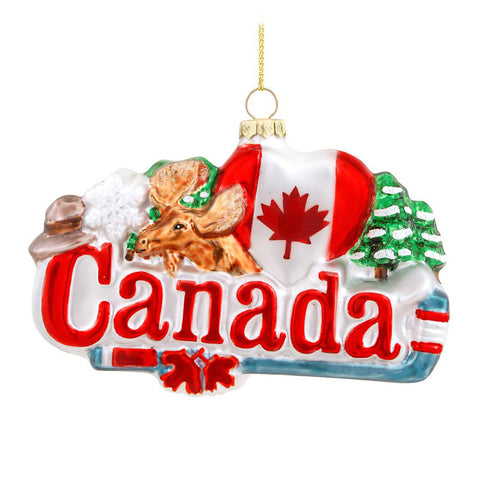 Canada Ornament for Christmas Tree