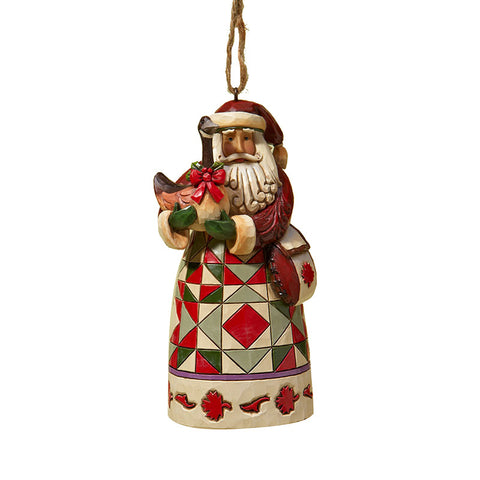 Canadian Santa Ornament for Christmas Tree