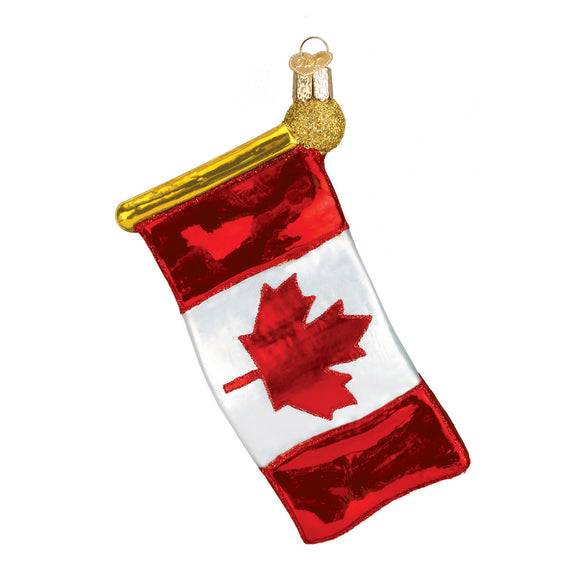 Canadian Flag Ornament for Christmas Tree - Canadian Flag Ornament Christmas Ornaments Callisters