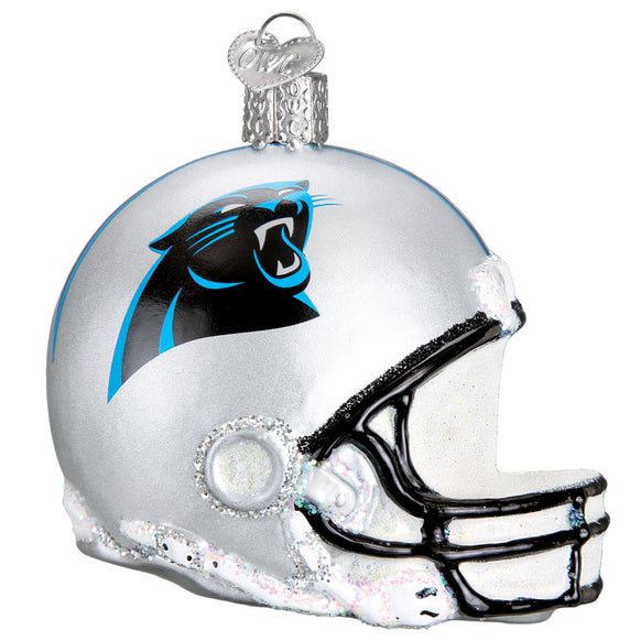 Carolina Panthers Helmet Ornament for Christmas Tree