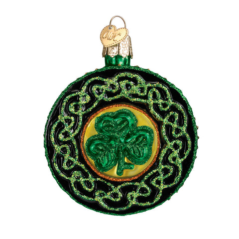 Celtic Brooch Ornament for Christmas Tree