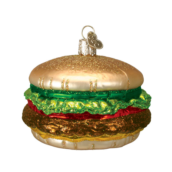 Cheeseburger Ornament for Christmas Tree