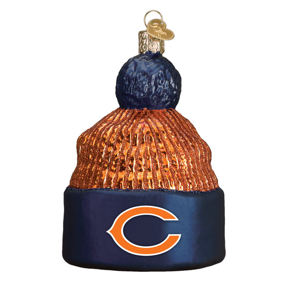 Chicago Bears Beanie Ornament for Christmas Tree